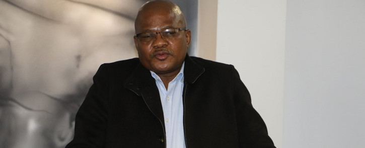 NUM general secretary David Sipunzi. Picture: @_cosatu/Twitter