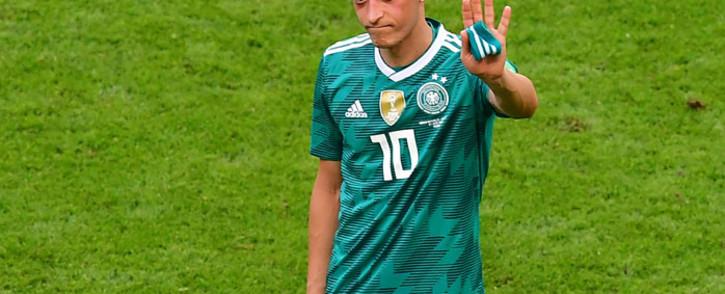 German midfielder Mesut Ozil. Picture: AFP