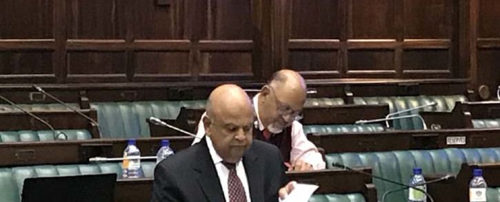 FILE: Public Enterprises Minister Pravin Gordhan appearing before a parliamentary committee. Picture: EWN