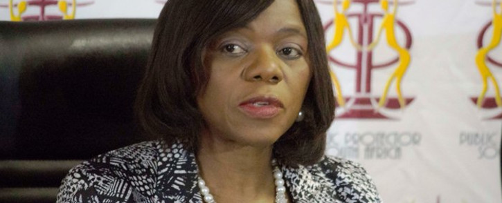 Pubic Protector Thuli Madonsela. Picture: AFP.
