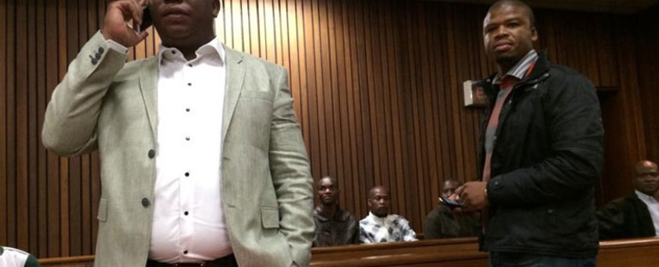 FILE: Julius Malema appears in court for his sequestration hearing on 25 August 2014. Picture: Barry Bateman/EWN.
