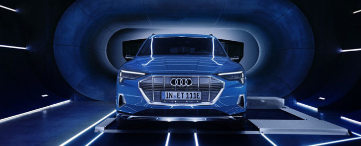 Audi unveils its first fully electric SUV. Picture: @AudiOfficial/Twitter