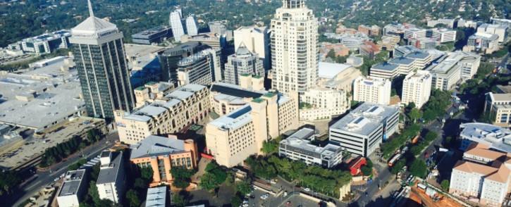 The Sandton CBD in Johannesburg. Picture: Aki Anastasiou/EWN