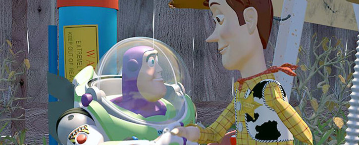 Toy Story character's Buzz Lightyear and Woody. Picture: Toy Story Facebook page.