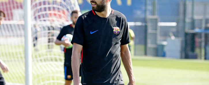 Barcelona's Catalan defender Gerard Pique. Picture: Facebook.