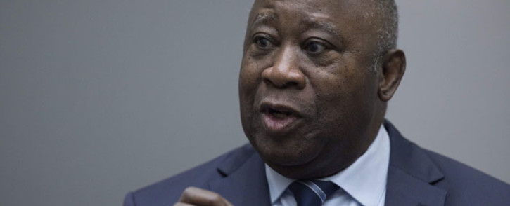 Former Ivory Coast president Laurent Gbagbo. Picture: AFP