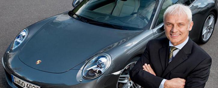 Porsche President and Chief Executive Officer Matthias Mueller. Picture: Screengrab via press.porsche.com