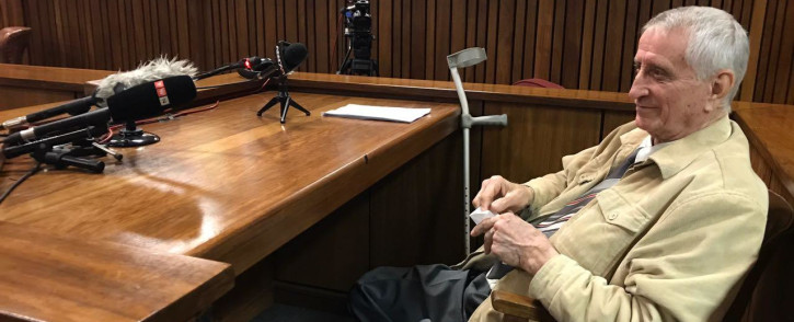 Jan Roderigues testifies during the Ahmed Timol inquest on 1 August, 2017. Picture: Barry Bateman/EWN.