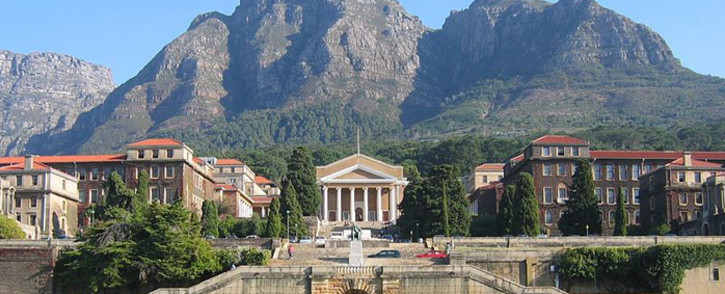 The University of Cape Town upper campus. Picture: Wikimedia Commons