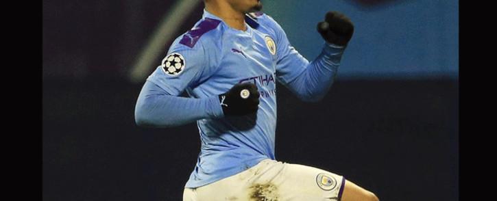Manchester City striker Gabriel Jesus. Picture: @gabrieljesus33/Twitter.