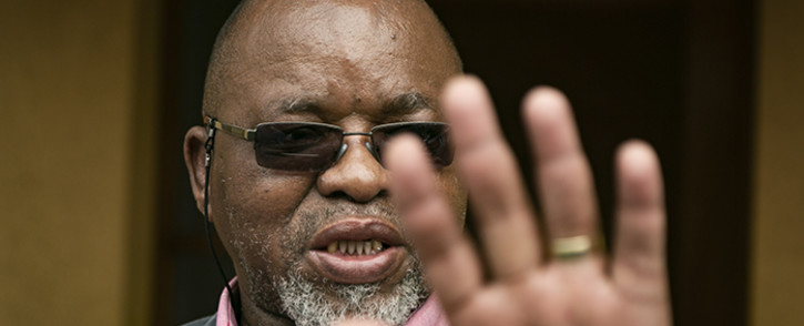 FILE: Mineral Resources Minister Gwede Mantashe gives the media a tour of his Boksburg house. Picture: Sethembiso Zulu/EWN