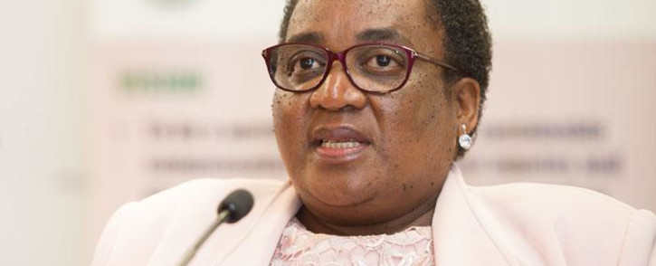 Former Minister of Labour Mildred Oliphant. Picture: GCIS