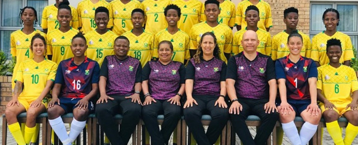 Banyana Banyana made history on 14 November 2020 after they won their fourth Cosafa Women's Championship title. Picture: @Banyana_Banyana/Twitter
