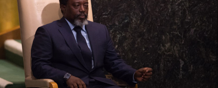 FILE: former president Joseph Kabila remains a powerful figure, wielding influence in the murky politics of the Democratic Republic of Congo through a network of followers. Picture: AFP