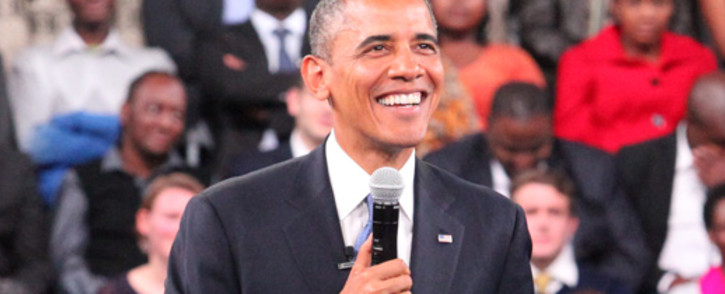 US President Barack Obama. Picture: Christa van der Walt/EWN.