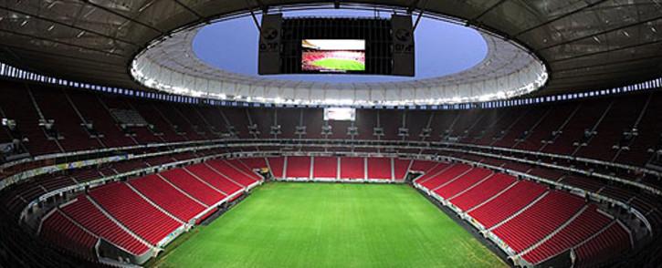 Mane Garrincha National Stadium in Brasilia. Picture: Facebook.