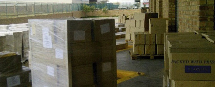 Textbooks found in a warehouse in Limpopo. Picture: Supplied.