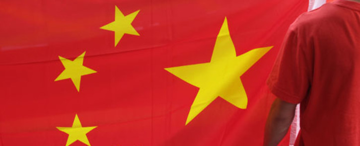 FILE: China flag. Picture: AFP