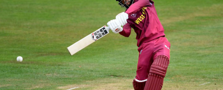 Windies wicketkeeper-batsman, Shai Hope scored 101 against New Zealand in a Cricket World Cup 2019 warm-up match on 28 May 2019. Picture: @cricketworldcup/Twitter