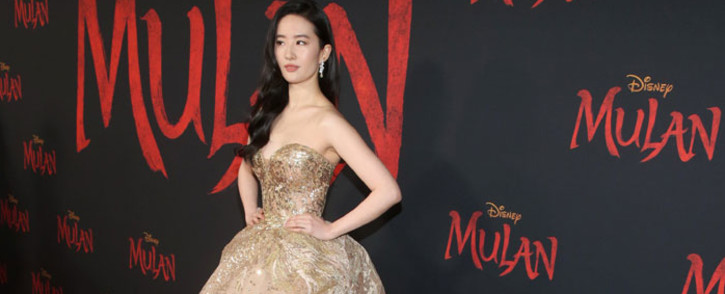 Actress Yifei Liu attends the world premiere of Disney's 'Mulan' at the Dolby Theatre in Hollywood on 9 March 2020. Picture: @DisneysMulan/Twitter