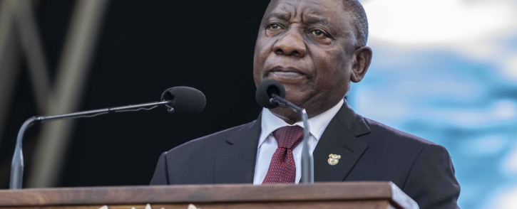 President Cyril Ramaphosa. Picture: Abigail Javier/EWN