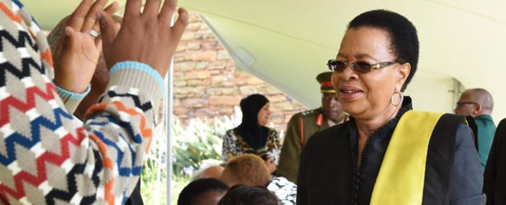 Nelson Mandela's widow Graca Machel. Picture: GCIS.