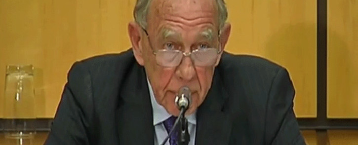 FILE: A screengrab of retired Judge Robert Nugent. Picture: YouTube.