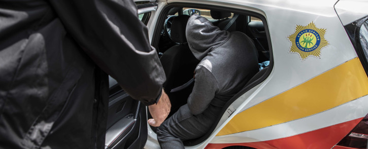 Hawks arrest one of seven on 30 September 2020 in connection with the R255 million Free State asbestos project. Picture: Abigail Javier/EWN