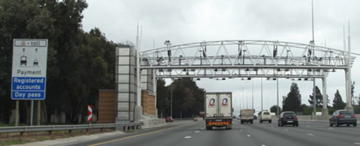 An e-toll gantry on the N1 in Johannesburg. Picture: Christa Eybers/EWN
