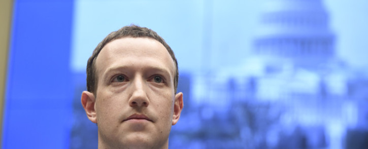 FILE: Facebook CEO and founder Mark Zuckerberg. Picture: AFP.