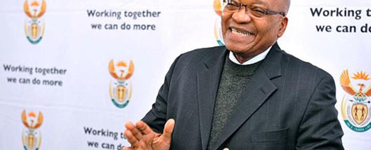 President Jacob Zuma. Picture: SAPA