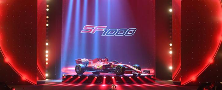 Ferrari unveils the SF1000 on 11 February 2020. Picture: @ScuderiaFerrari/Twitter