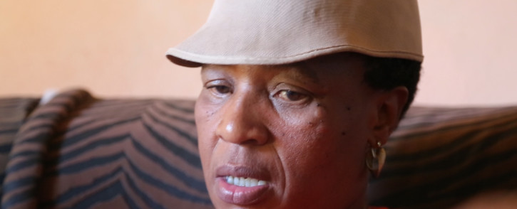 Salome Mabena told EWN how she was allegedly raped by a policeman. Picture: Christa Eybers/EWN