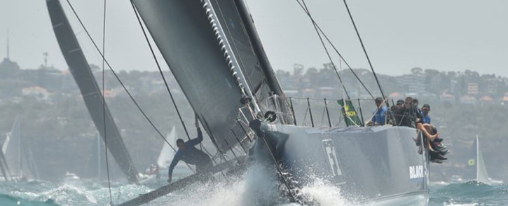 The Sydney to Hobart yacht race which has just been cancelled. Picture: AFP.