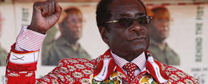 Zimbabwean president Robert Mugabe at a campaign Rally in Harare, Zimbabwe. Picture: Taurai Maduna/Eyewitness News