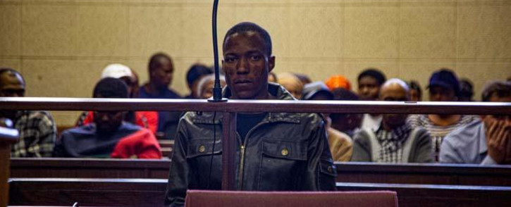 Mohlomohi Bafokeng makes his first appearance in the Vanderbijlpark Magistrate Court on charges of kidnapping on 25 September 2019. Picture: Kayleen Morgan/EWN