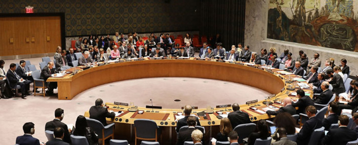 A United Nations Security Council meeting in New York City. Picture: AFP