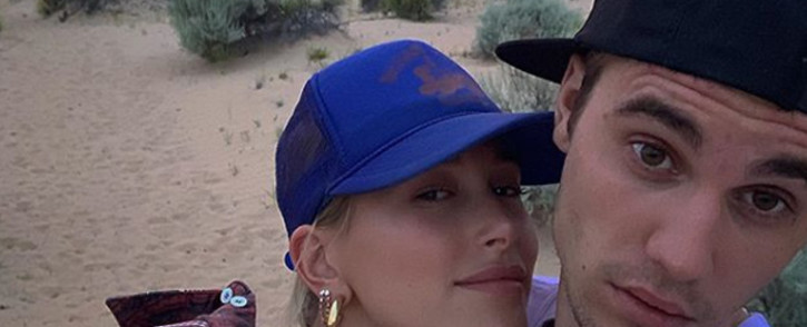Justin Bieber and his wife Hailey Bieber. Picture: @justinbieber/Instagram.