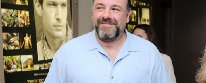 """FILE: James Gandolfini attends """"Which Way Is The Frontline From Here?"""" New York Premiere at HBO Theater on April 10, 2013 in New York City. Picture: AFP."""