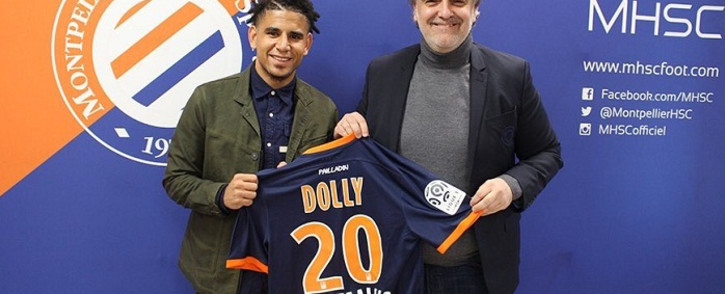 Keagan Dolly officially unveiled by Montpellier. Picture: Twitter/@dolly_keagan07.