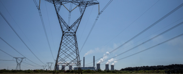 FILE: Power lines leaving Eskom's Duvha power station, 15km east of Witbank. Picture: AFP