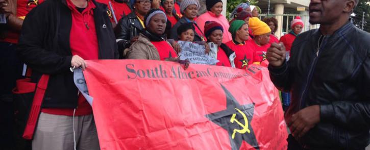 SACP members. Picture: EWN