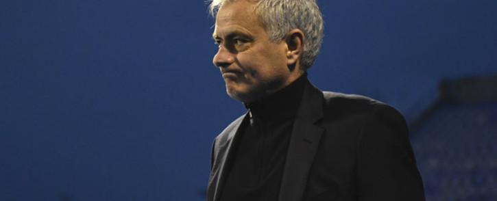 Tottenham manager Jose Mourinho. Picture: @SpursOfficial/Twitter