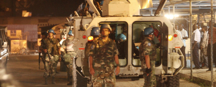 FILE: UN peacekeepers in Kinshasa, capital of the Democratic Republic of the Congo (DRC). Photo: MONUSCO.