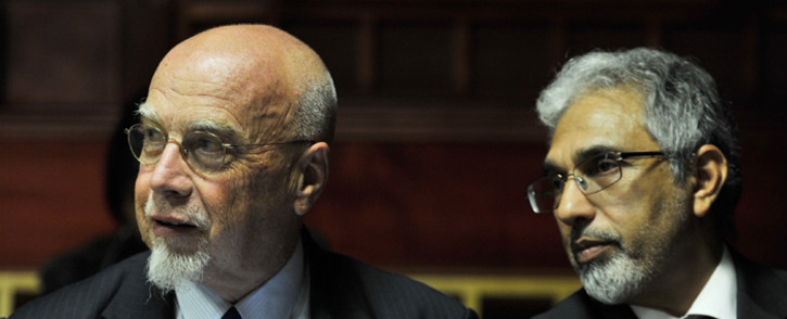 Peter Richer and Ivan Pillay. Picture: Gallo Images/City Press/Elizabeth Sejake.