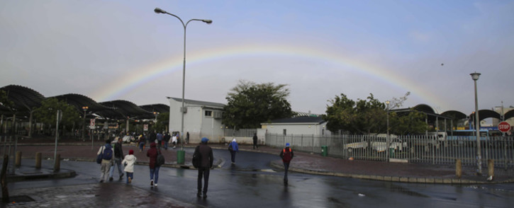 FILE: A general view of the Bellville taxi rank which was closed following shootings. Picture: Cindy Archillies/EWN.