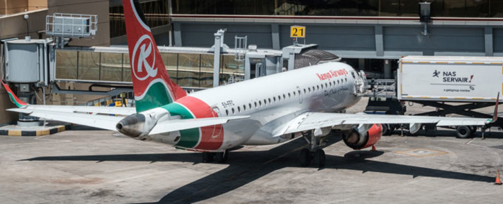 FILE: A Kenya Airways plane. Picture: AFP