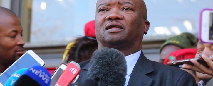 UDM leader Bantu Holomisa. Picture: Christa Eybers/EWN