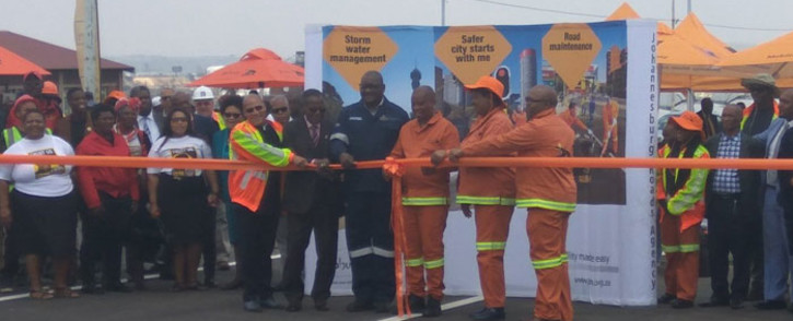 Johannesburg's M2 highway is reopened on 31 October 2019 after eight months of construction. Picture: @MyJRA/Twitter