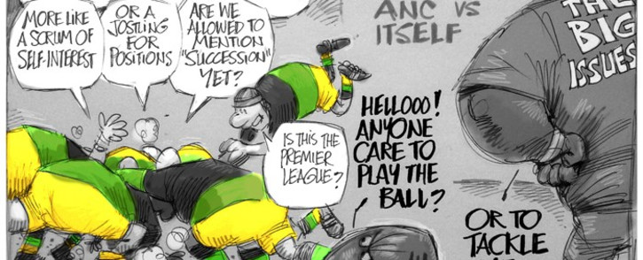 The ANC's Set Piece